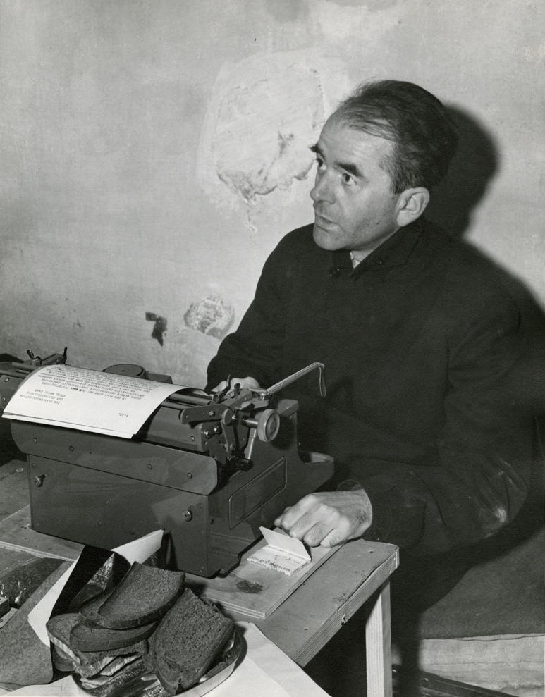 Albert Speer in his jail cell, Nuremberg, 1945 Public Domain.jpeg