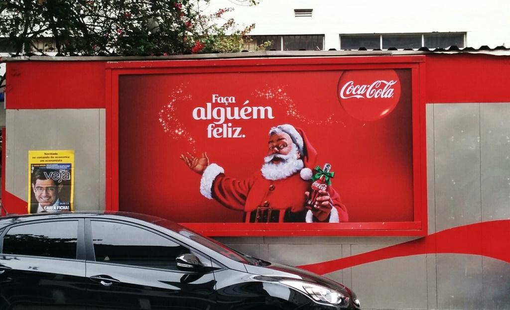 Santa in Brazil