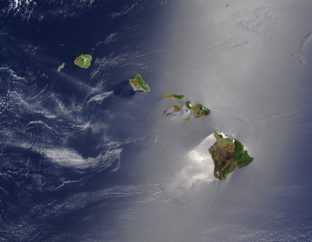 Sandwhich Islands AKA Hawaii _ NASA