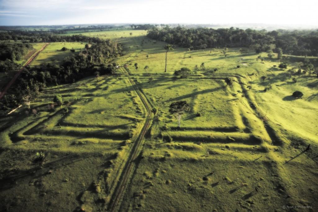 Amazonian Geoglyph
