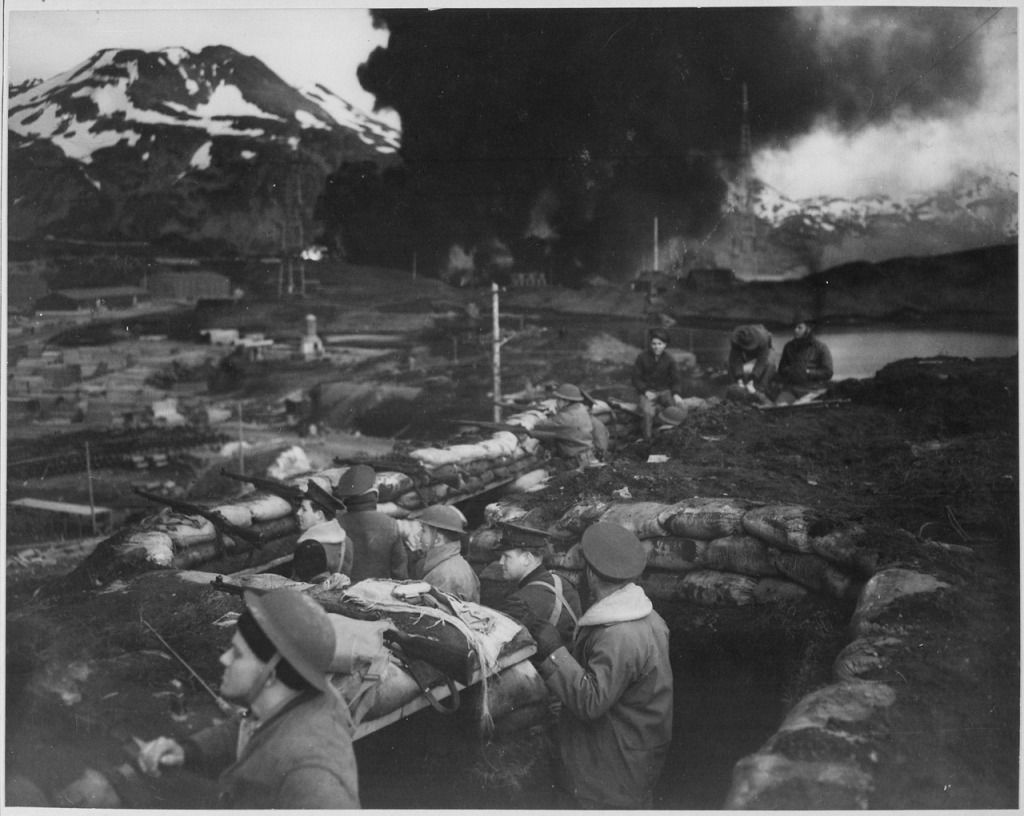 US Troops Dutch Harbor
